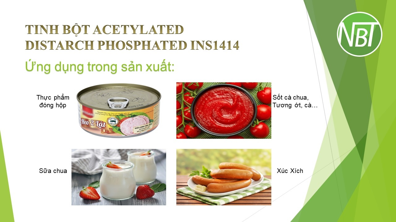 Tinh bột Acetylated Distarch Phosphated INS1414