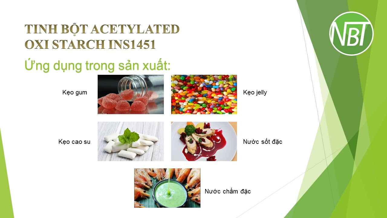 Tinh bột Acetylated Oxi Starch INS1451
