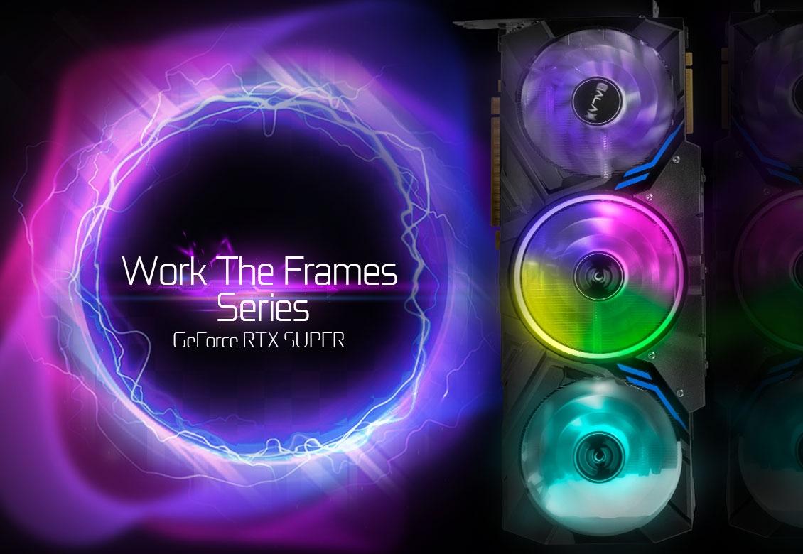 Chương trình Pre-oder VGA GALAX WORK THE FRAMES đính kèm quà tặng